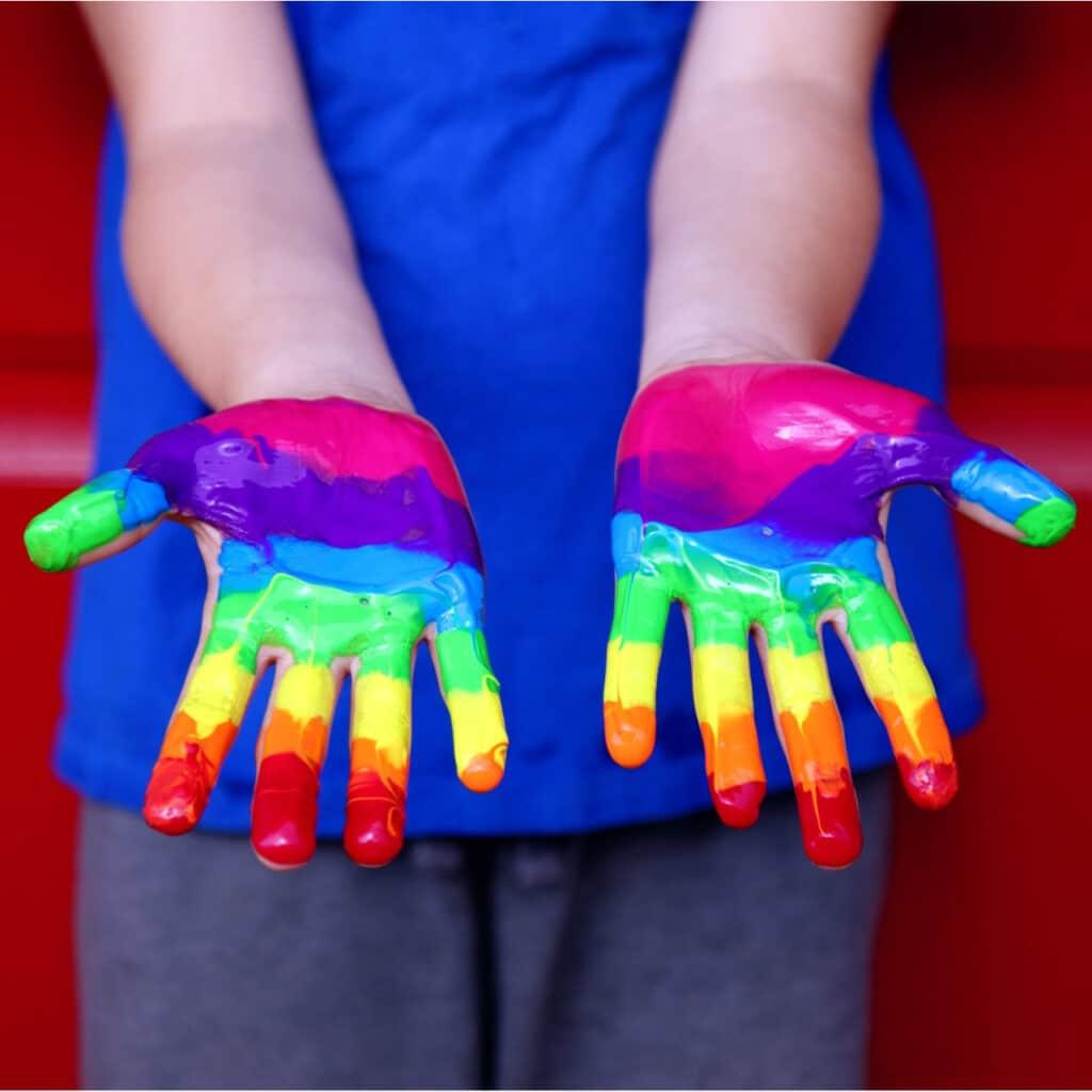 Rachelle Bloksberg Inclusive Therapy_Rainbow hands